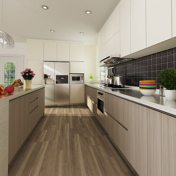 Refinishing Melamine Kitchen Cabinets: OP14-M06 : Melamine Finished Door Kenya Project Modern