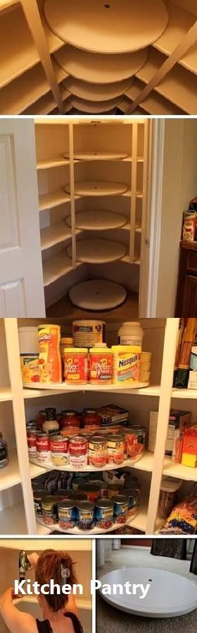 New Kitchen Pantry Ideas #pantrycabinet