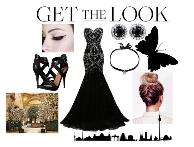 """Get the Look: Met Gala 2016"" by otaku-max ❤ liked on Polyvore featuring Michael Antonio, DANNIJO, GALA, GetTheLook and MetGala"