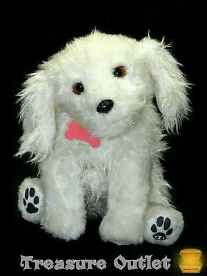 Wowwee Alive Stuffed Plush Electronic Robotic Poodle Puppy Dog