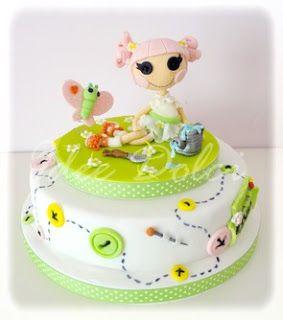 "Torte decorate ed ♥ Idee Dolci ♥: Torta Lalaloopsy ""Blossom Flowerpot"""