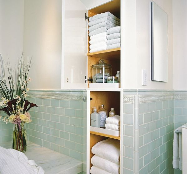 Five Great Bathroom Storage Solutions  Bathroom Storage Solutions Interesting Storage For Towels In Small Bathroom Design Inspiration