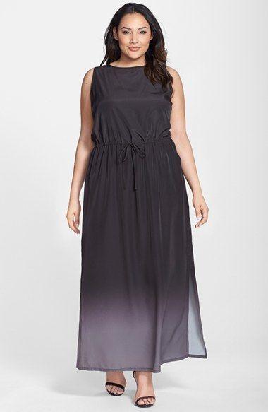 Caslon® Racerback Maxi Dress (Plus Size) | Plus Sizes | Pinterest ...