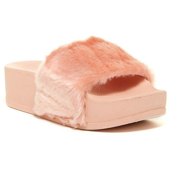 SLINGBACKS FAUX FUR SLIDERS WEDGED WEDGES PLATFORMS FLATFROMS STRAPPY SANDALS