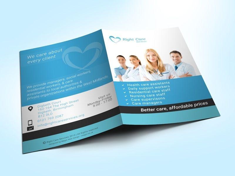 Healthcare Presentation Folder #design Medical Branding - resume presentation folder