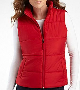 Made For Life™ Puffer Vest - Red