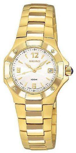 021f0b2e6ec Seiko Gold-Tone Ladies Watch SXD574 Seiko.  149.00. Steel Bracelet Strap.  Date. Save 57% Off!