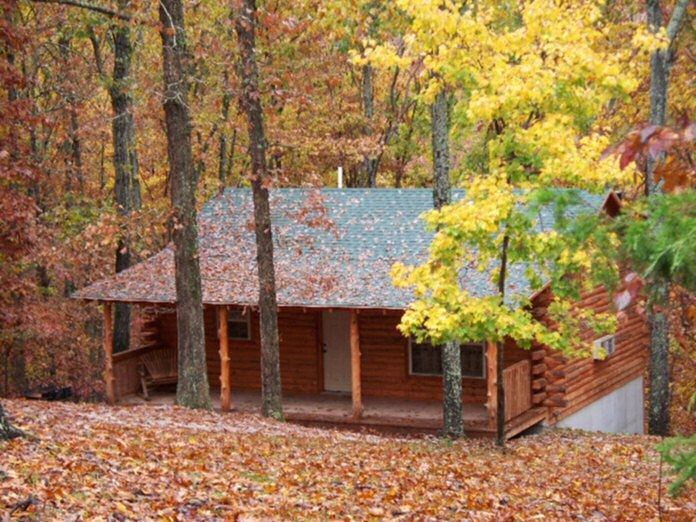 Lake Forest Luxury Log Cabins At Beaver Lake Near Eureka Springs, AR. One Of