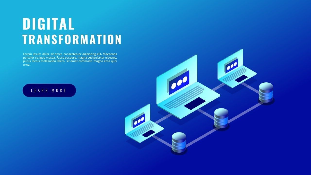 How To Design Isometric Digital Transformation Business Powerpoint Prese Business Powerpoint Presentation Powerpoint Presentation Slides Digital Transformation