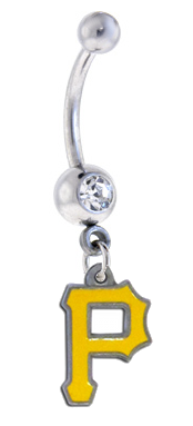 Pittsburgh Pirates Belly Ring