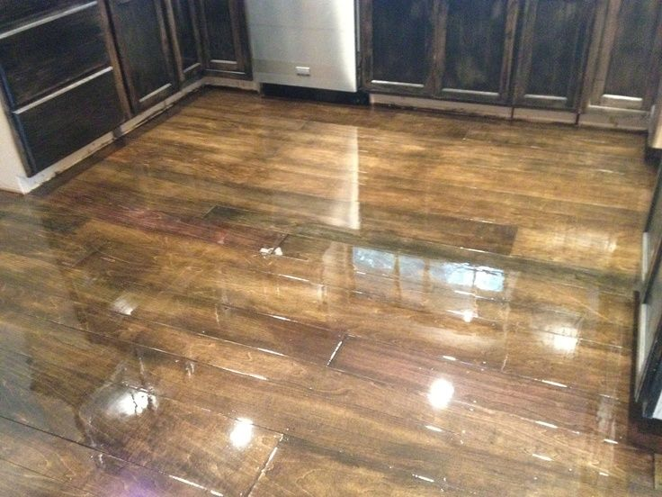 Diy Plywood Floors Not Sure If You Could Replace The