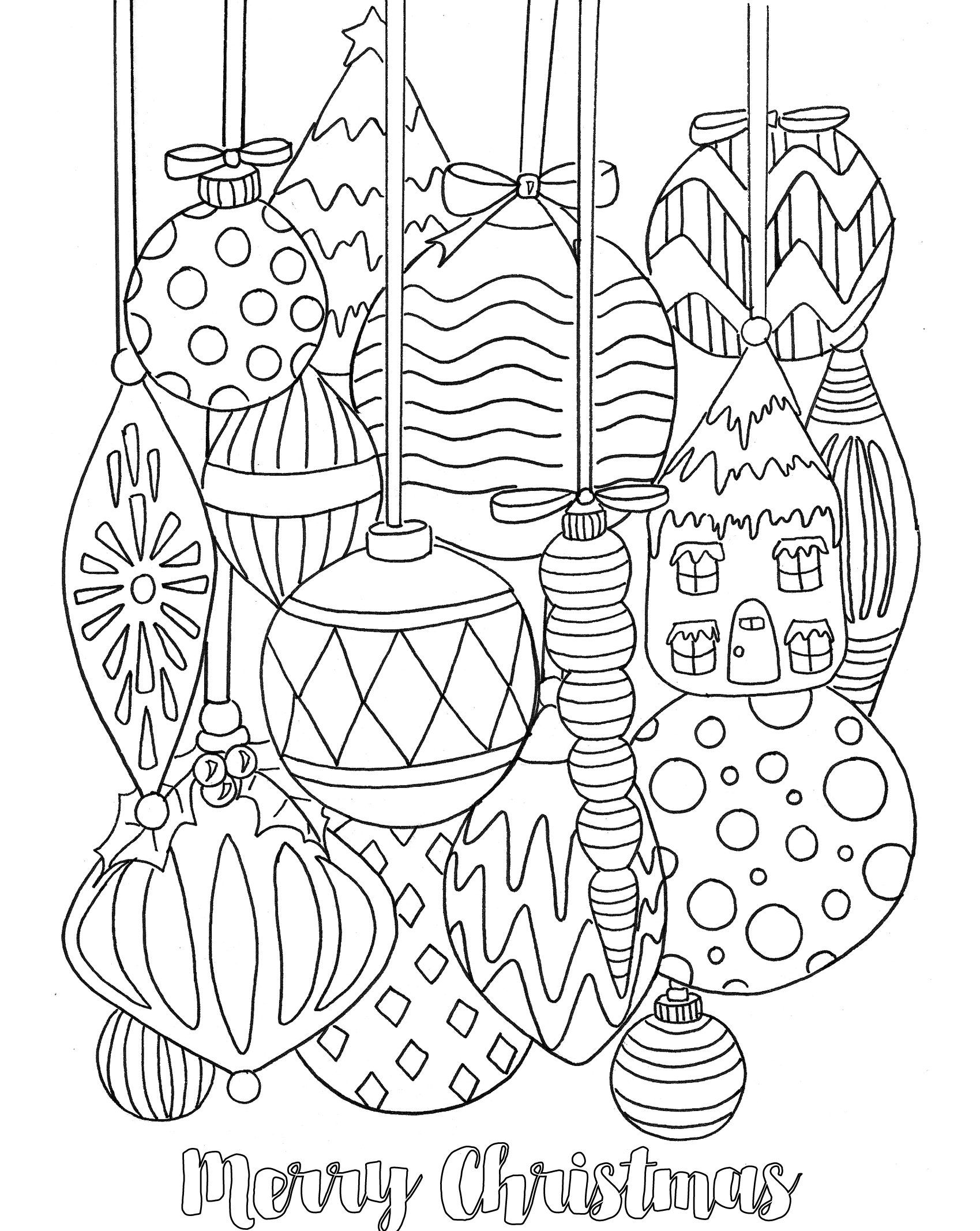 - Christmas Coloring Pages Only Coloring Pages (With Images