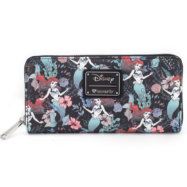 1ca8e2a550d Loungefly x Ariel Floral Print Wallet - Disney - Brands