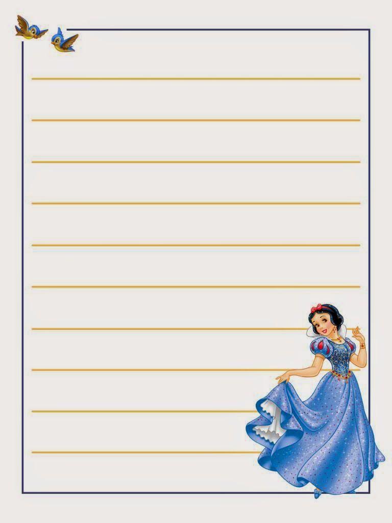 Snow White Free Printable Notebook In 2020 Snow White Disney Scrapbook Disney Printables