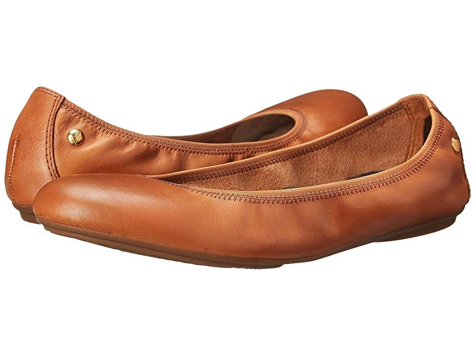 Hush Puppies Chaste Ballet Cognac Leather Women S Flat Shoes Walk In Nearly Barefoot Bliss With The Hush P Flat Shoes Women Womens Flats Leather Shoes Woman