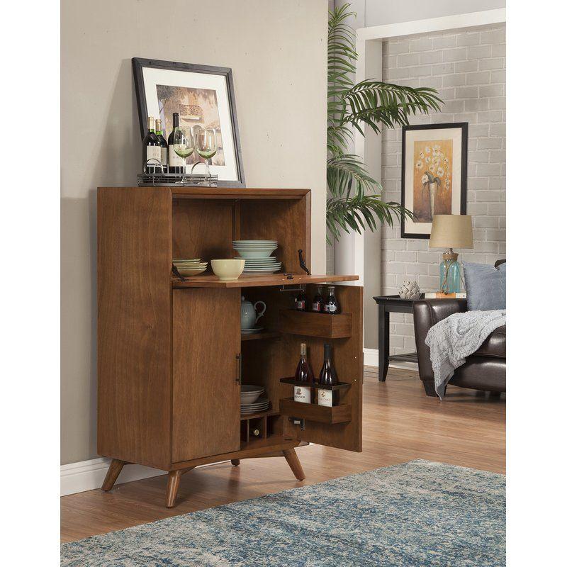 Brainard Portable Home Bar Table Modern Bar Cabinet Modern Home