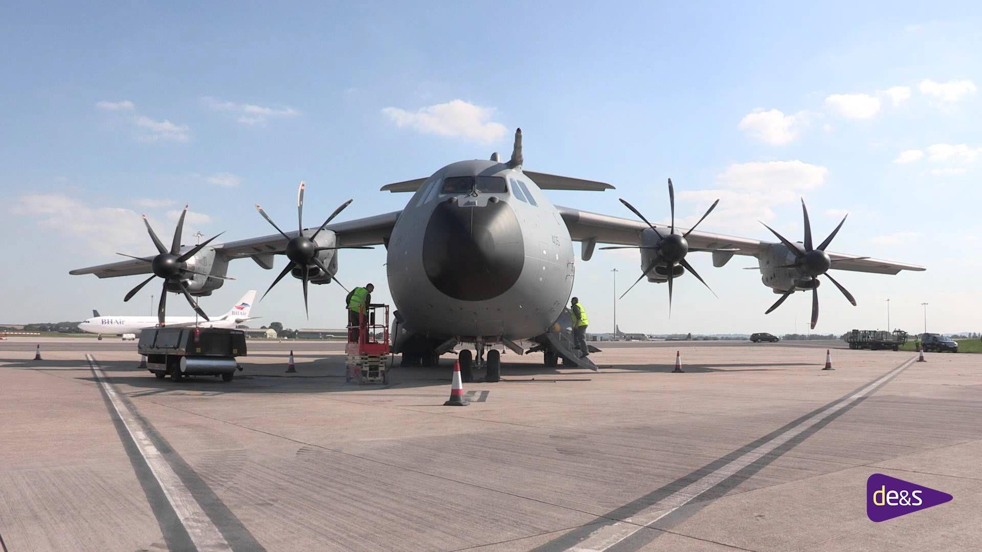 Royal Air Force's transport fleet has reached a key