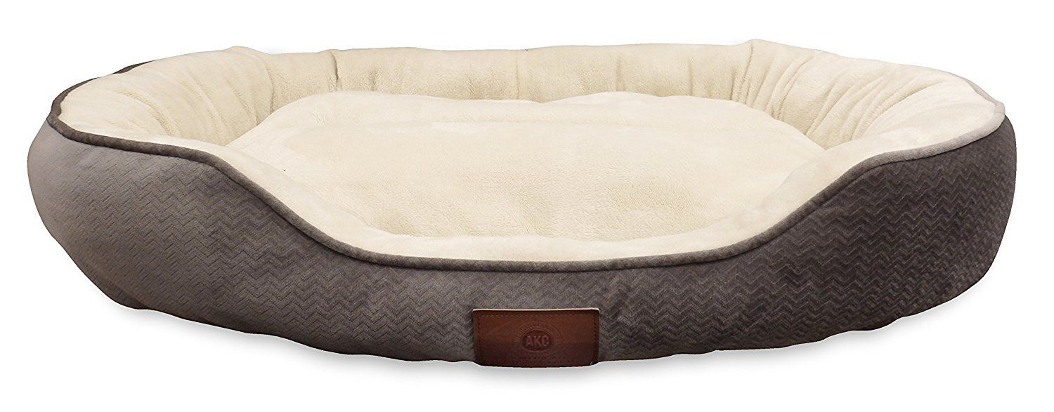 Akc Embossed Solid Pet Cuddler Bed See This Great Product This Is An Affiliate Link Dogcare Dog Bed Soft Dog Beds Dog Bed Furniture