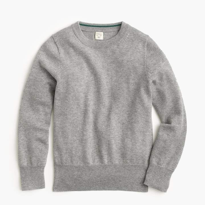 93daf146e J. Crew Boys' Cotton-Cashmere Crewneck Sweater #boys, #jcrew, #cashmere,  #promotion
