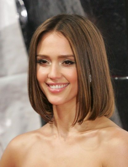 Brilliant Middle Part Hair Middle And Bobs On Pinterest Short Hairstyles Gunalazisus