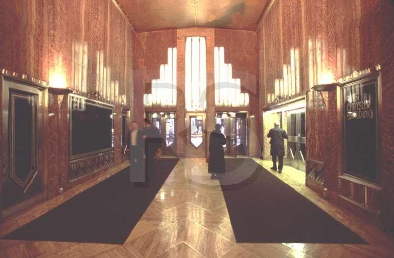 Chrysler Building Interior Of Lobby With Images Chrysler