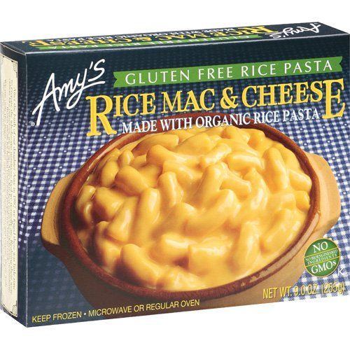 Amy S Rice Mac Cheese Gluten Free Non Gmo 9 Ounce Walmart Com Food Frozen Entrees Macaroni Cheese