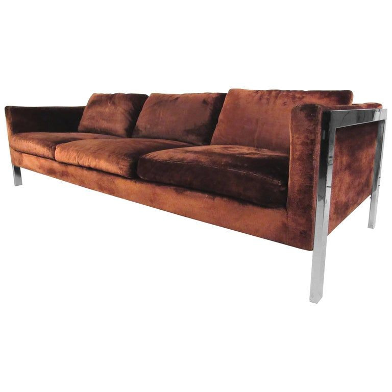 Milo Baughman Sofa The Style Of American Mid Century Modern