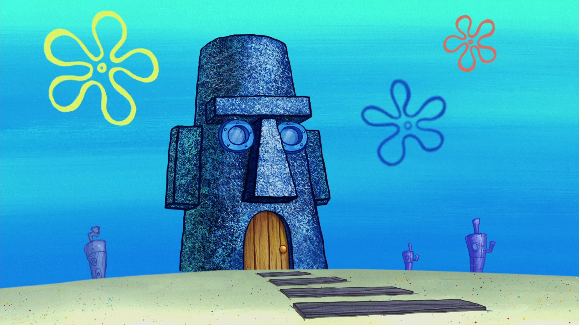 Image Result For Squidward S House