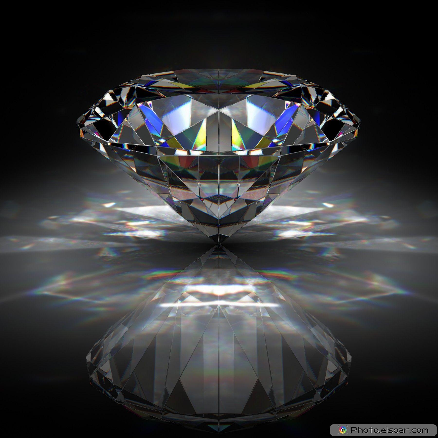 Wollpepar Diamond: Diamond Wallpaper, Gold