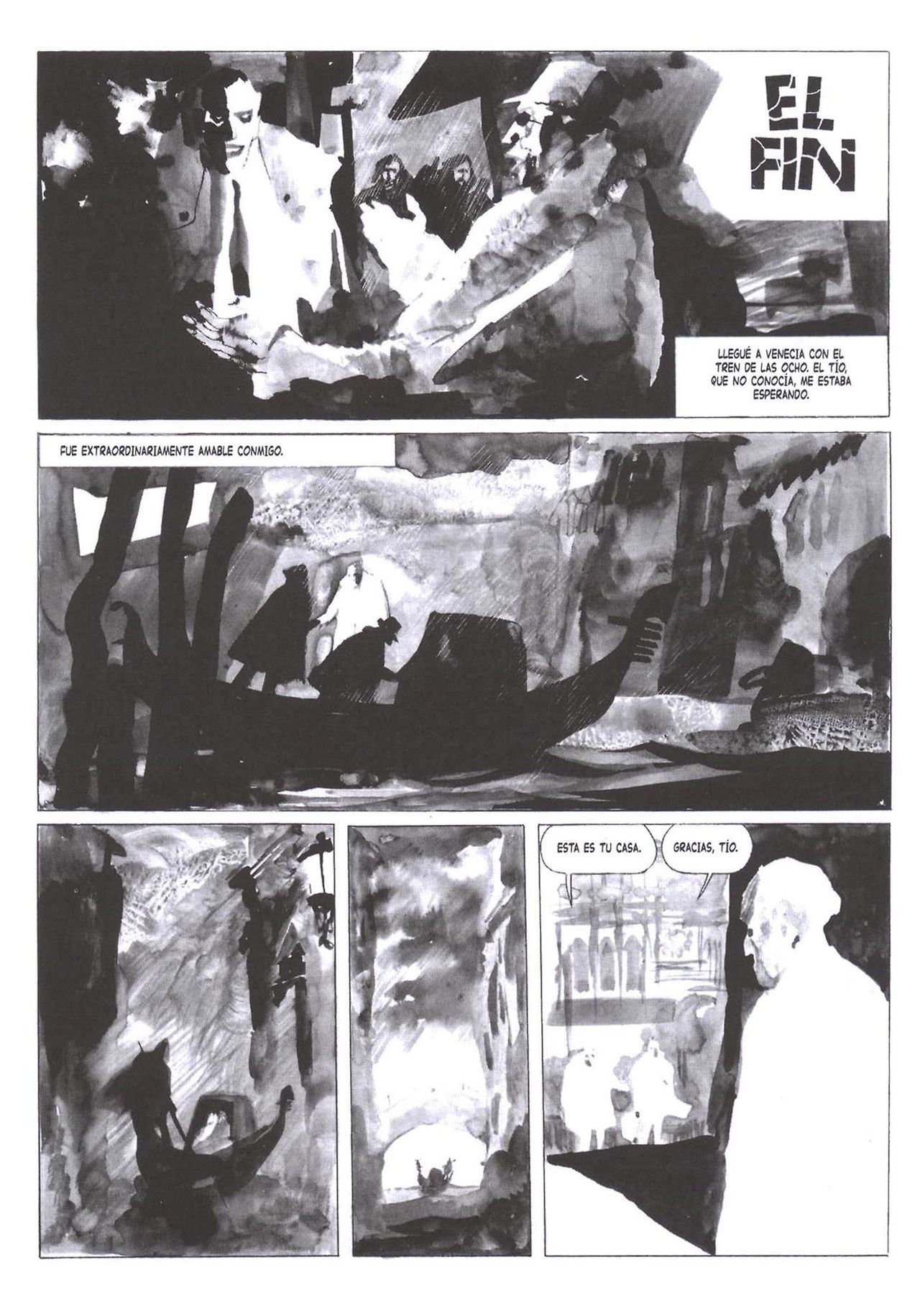 El Aire - Alberto Breccia (7) - Such a unique style. Part traditional ink, part collage.