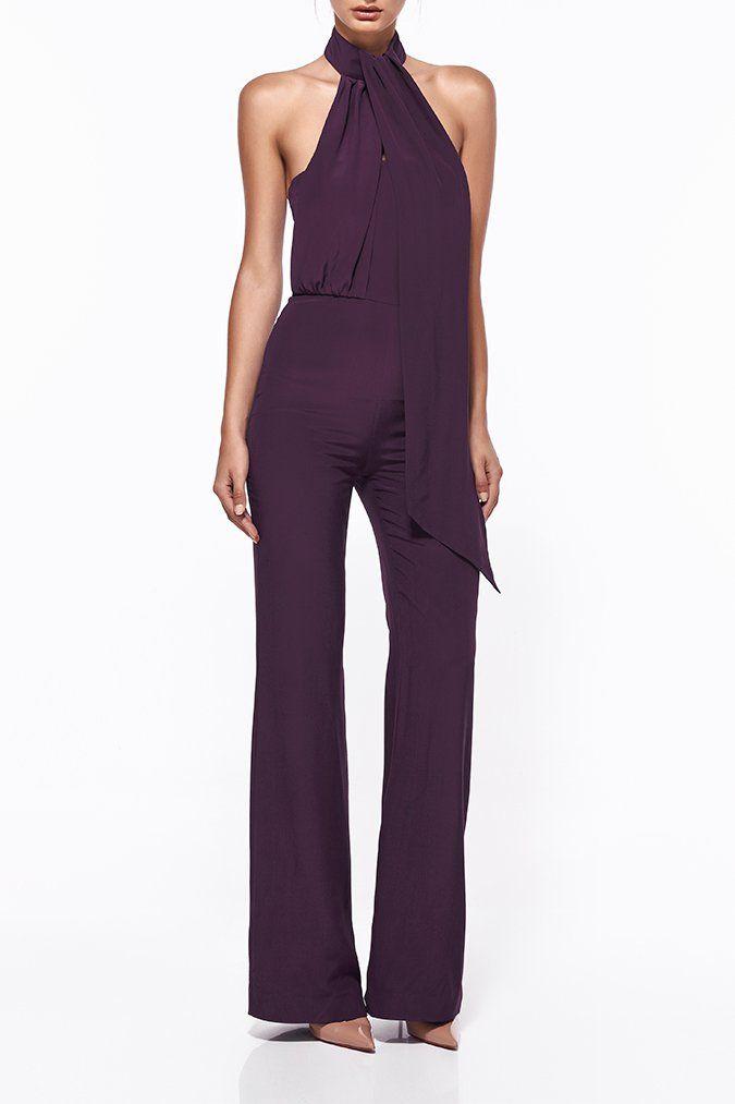 d8310967720 KIRSTEN SILK WIDE LEG PANTSUIT - Pantsuits - Shop