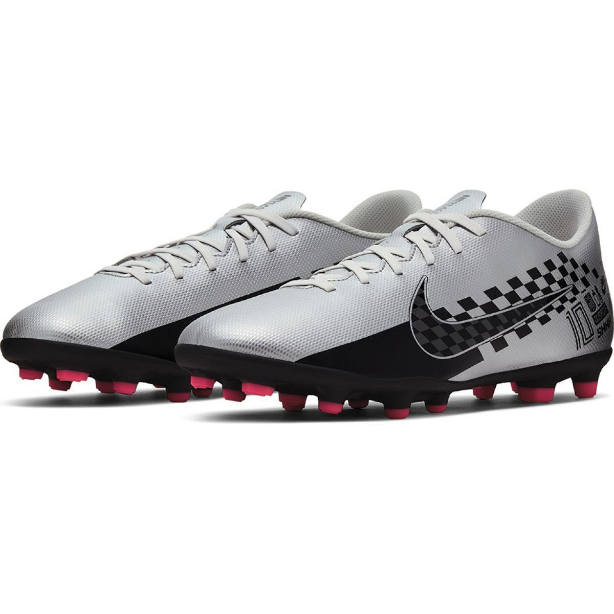Buty Pilkarskie Nike Mercurial Vapor 13 Club Neymar Fg Mg M At7967 006 Szare Szare Nike Football Boots Football Shoes Soccer Shoes