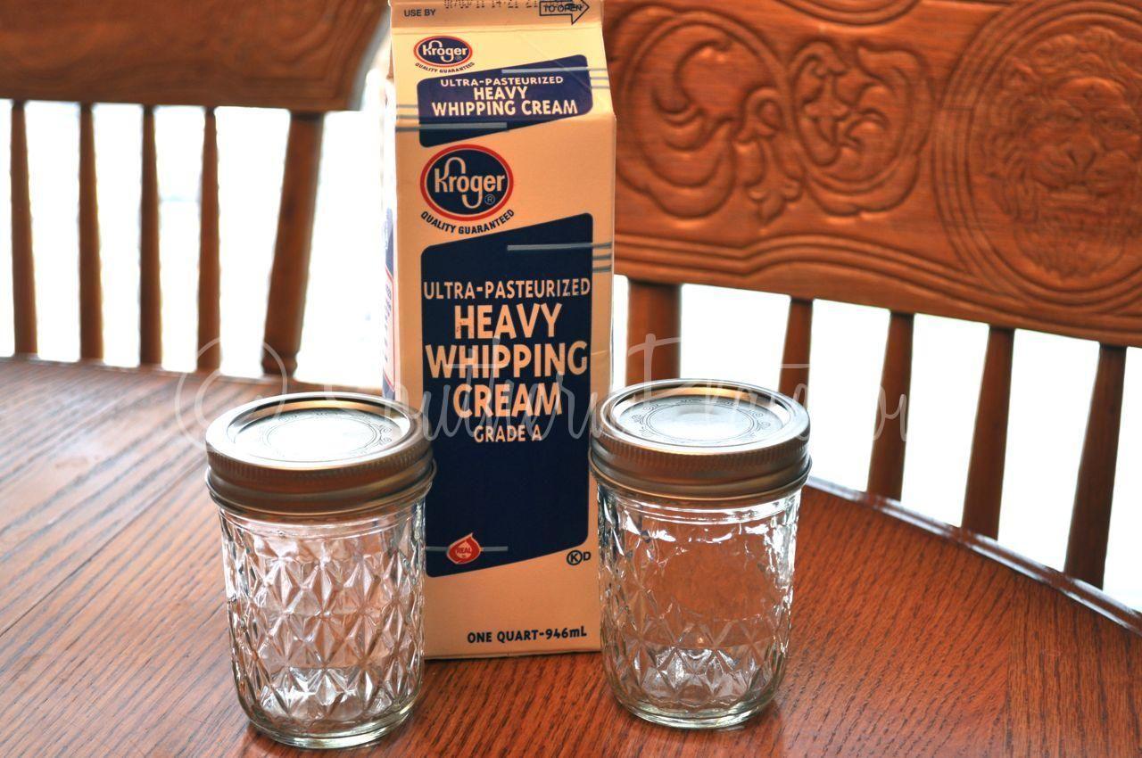 Dsc 0521 Making Butter Homemade Butter Mason Jars