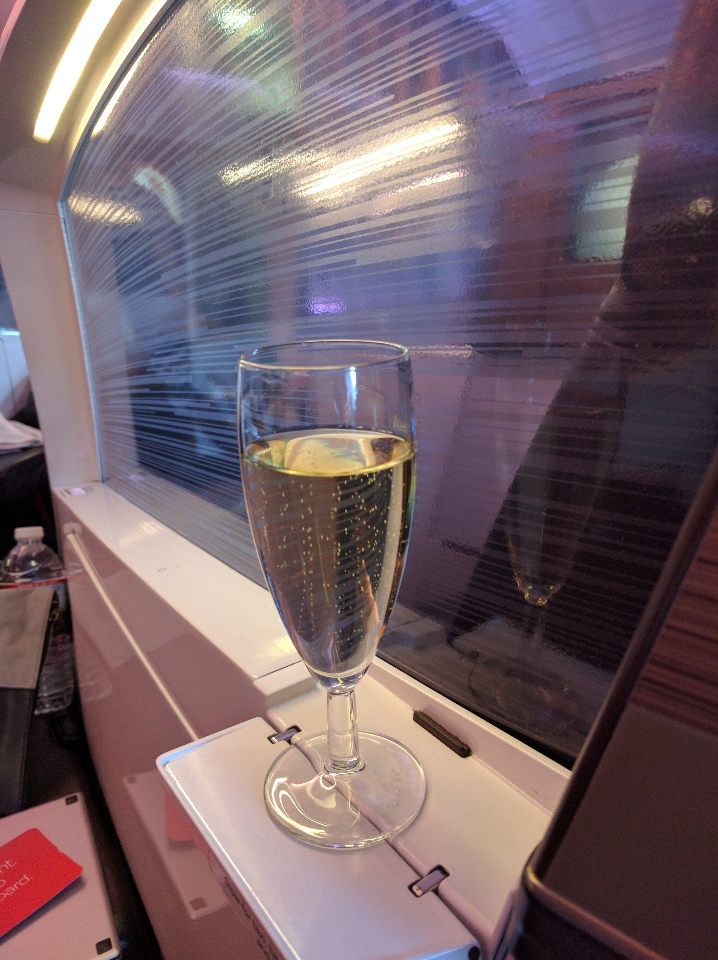Flight review virgin atlantic business class a330