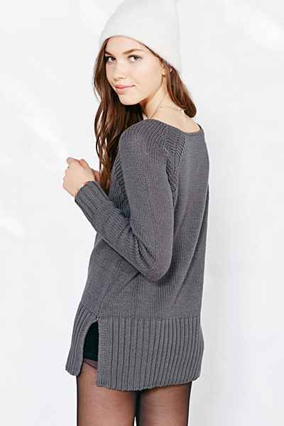 Silence   Noise Wide-Ribbed Sweater   Urban outfitters, Sweaters ...