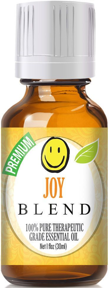Joy Blend Essential Oil - 100% pure and natural   Joy Blend has a sweet floral aroma with sof... Joy Blend Essential Oil - 100% pure and natural   Joy Blend has a sweet floral aroma with soft citrus tones. Blend Information: Bergamot, Ylang Ylang, Lemon, Tangerine, Palmarosa, Jasmine,