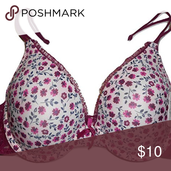 05f021c690 Jessica Simpson Rose Floral Lace Bra Jessica Simpson rose floral lace with  flowers push-up bra in size 34B. 36C and 34C. Jessica Simpson Intimates ...