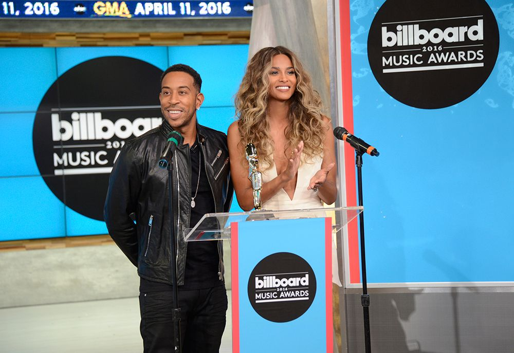 Ludacris and Ciara, who will be the hosts of this year's Billboard Music Awards, announce the nominees on Good Morning America on April 11, 2016 | Billboard