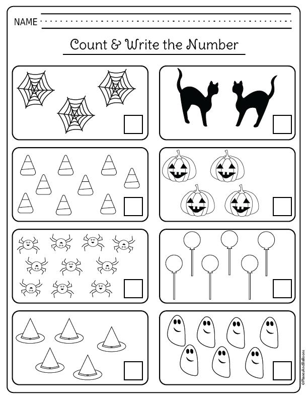 Kindergarten Halloween Worksheets Free Printable Pdf Halloween Math Activities Kindergarten Halloween Math Worksheets Halloween Kindergarten
