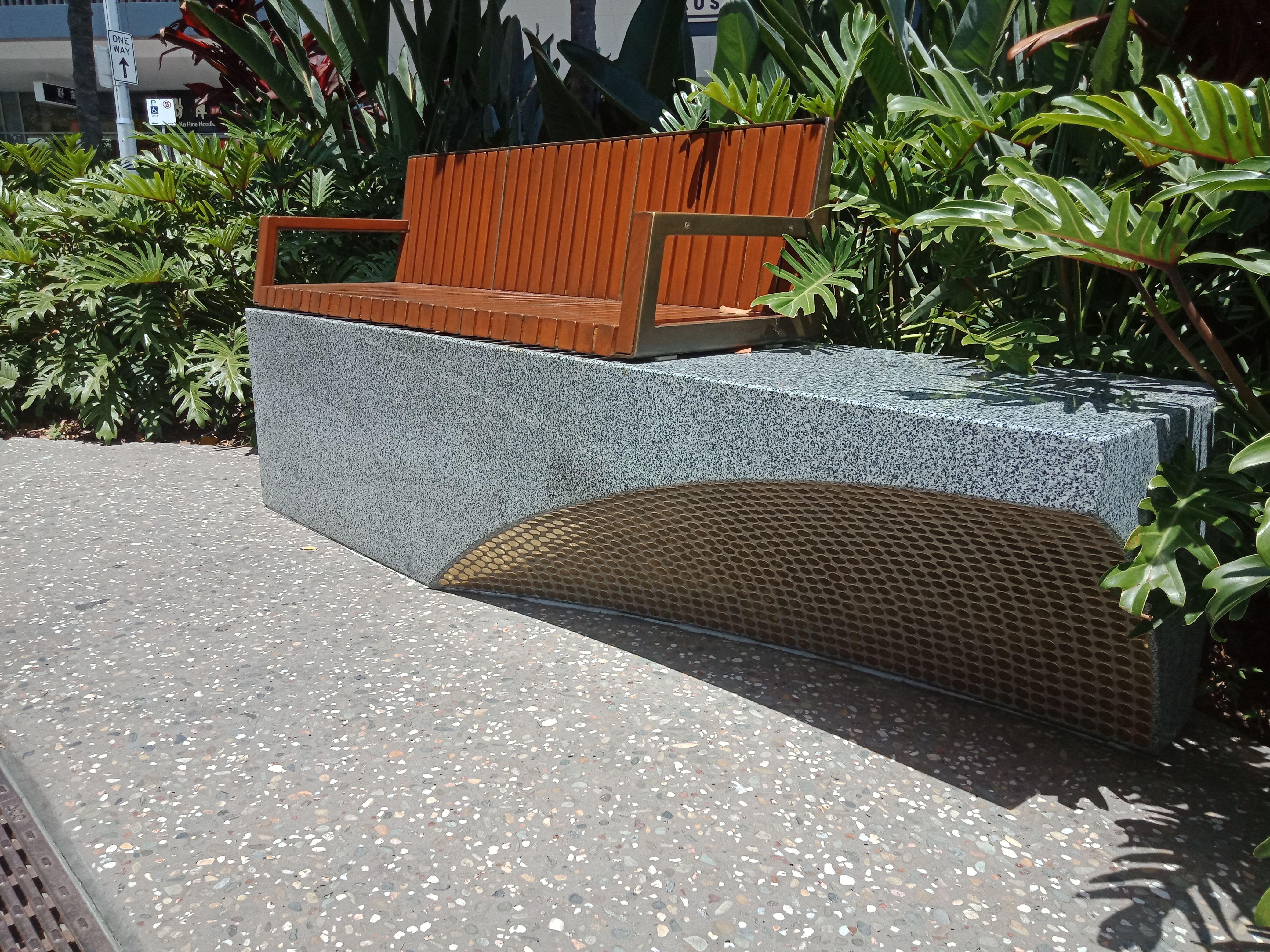 Brisbane China Town Seat