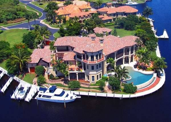 My dream home here in my town, Cape Coral, Florida