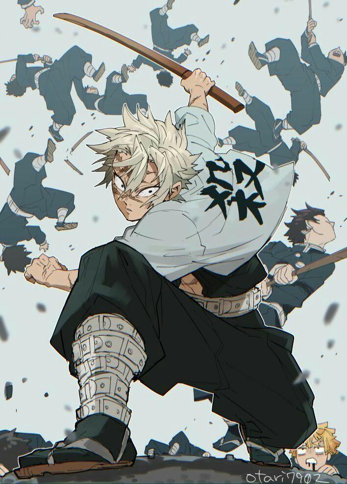 Demon Slayer Sanemi Anime demon, Slayer anime, Anime