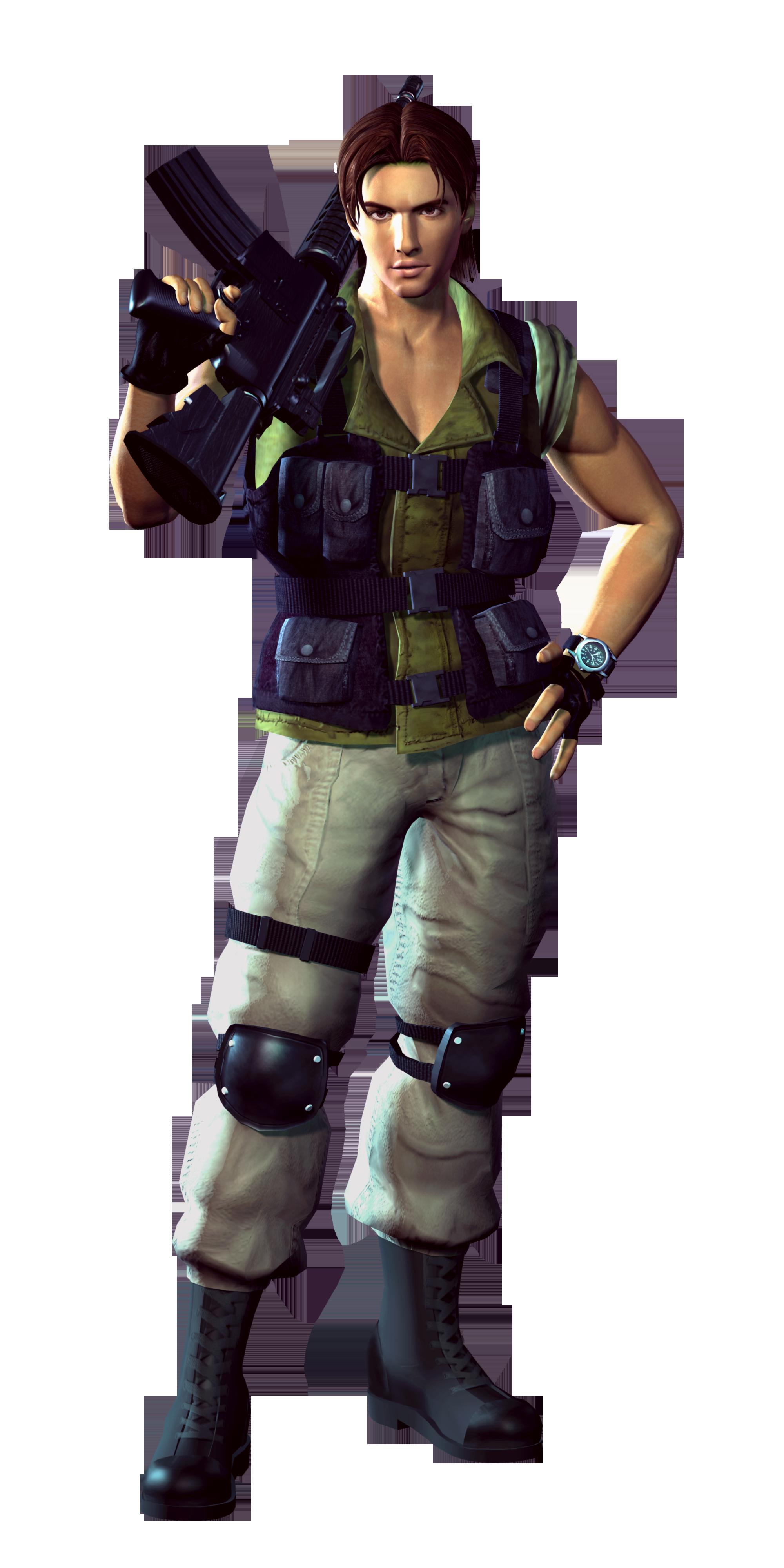 Carlos Oliveira Resident Evil 3 Nemesis Personajes Criada