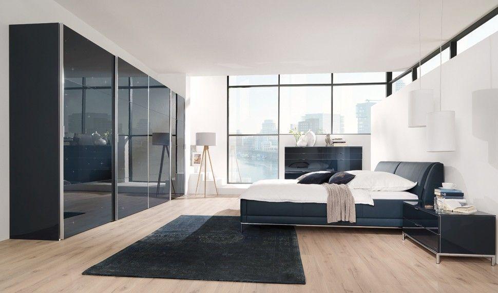 Wellemöbel Schlafzimmer ~ Wellemöbel schlafzimmerprogramm chiraz schwarz weiß möbel mit