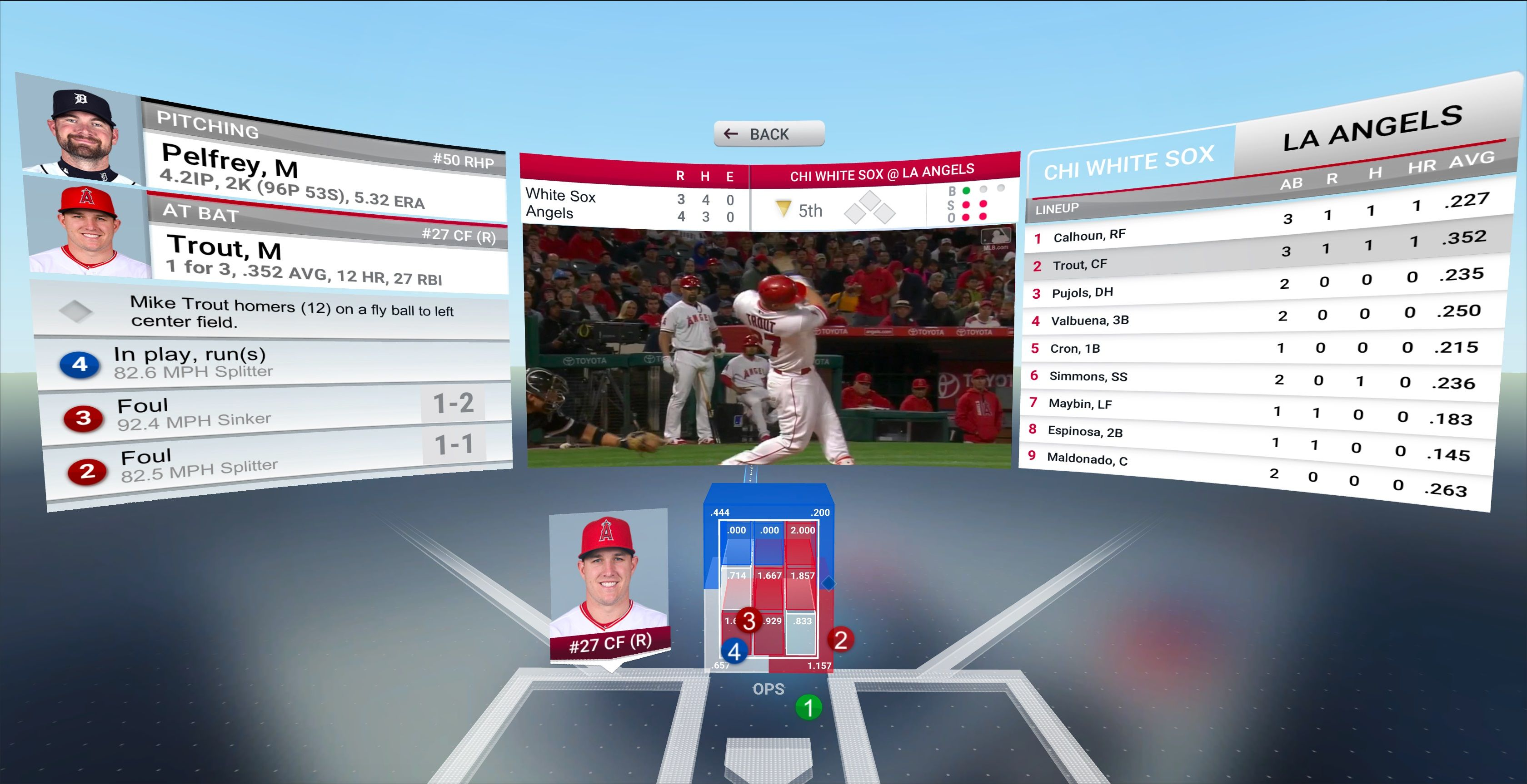 Major League Baseball Commissioner Rob Manfred On Thursday Announced The League S Premier Live Game Streaming App Mlb At Bat Will Launch A Vir Basketball Systems Uefa Football Game Streaming