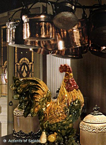 Tuscan Style A Kitchen Brimming With Cozy And Chic Rooster