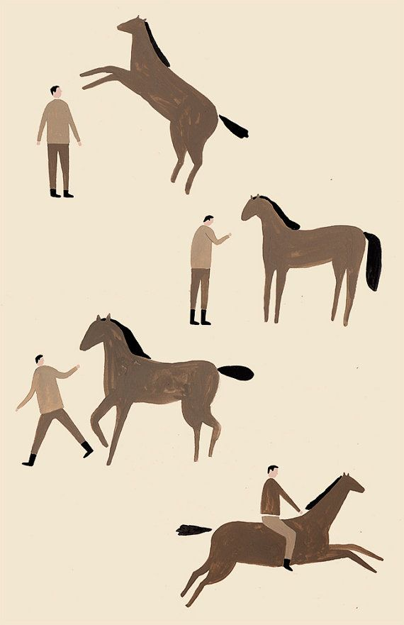 Man & Horse i have this !