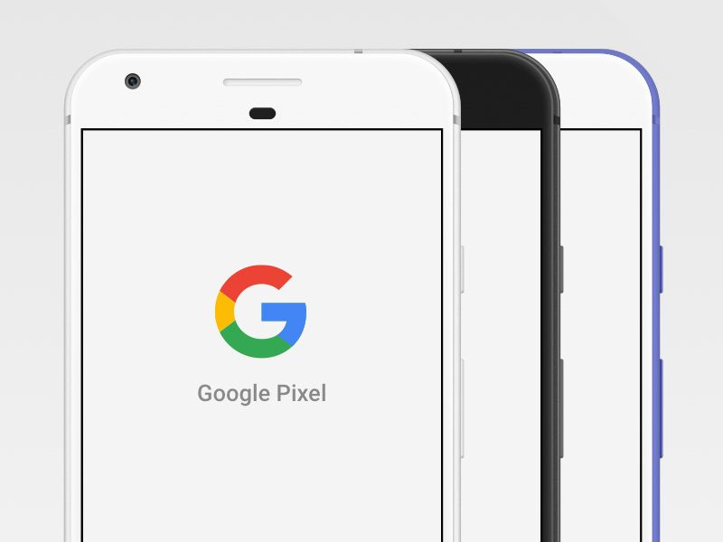 Google Pixel Mockup Free Mockup Website Template Design Pixel