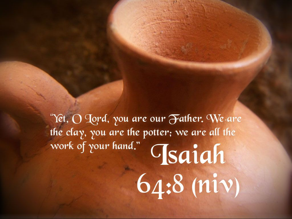 Image result for isaiah 64 verse 8