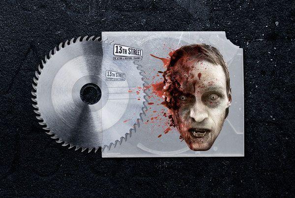 "13th Street ""Stationery of Horror"" by Jung von Matt AG"